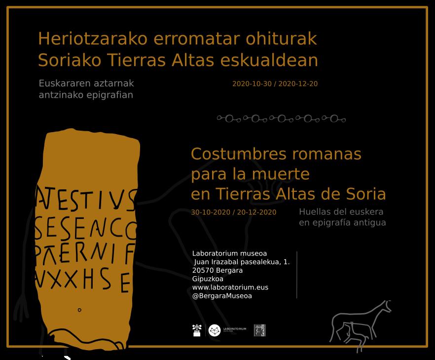 Cartel digital horizontal de la exposicion