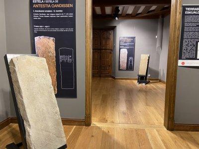 Exposición. Dos salas sin gente