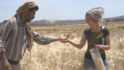 Amaia Arranz Jordanian laginak jasotzen