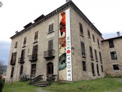 Errekalde jauregia, Laboratorium museoaren egoitza