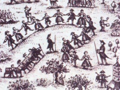 Baile de cuerda en el siglo XVIII