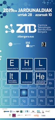 Cartel jornadas ZTB 2019